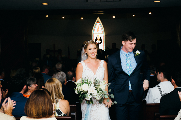 ceremony at the Corolla chapel