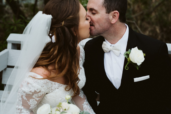 intimate outer banks wedding
