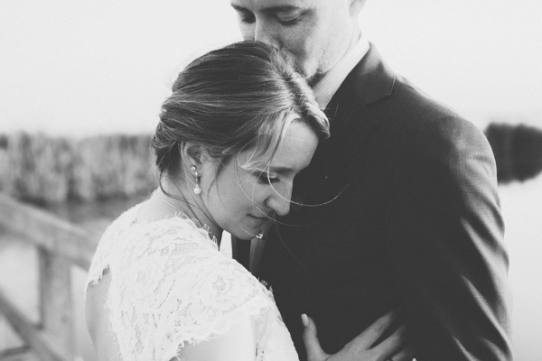 black and white bride and groom detail